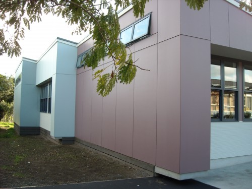 Western Springs New Building Colours